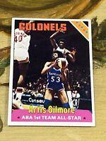 Vintage 1975 Topps #250 ARTIS GILMORE Colonels Bulls Spurs C NBA HOF NrMt 4th Yr
