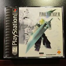 Final Fantasy VII 7 PS1 Black Label PlayStation UNPLAYED COPY NEW COMPLETE MINT