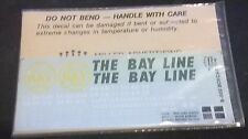 Harold King Bay Line 50' boxcar decal set