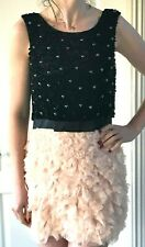 ASOS two tier shift dress small /8   - excellent condition