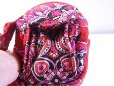 Vera Bradley Charming Mini Backpack KeyChain BagCharm Frankly Scarlet #PW365