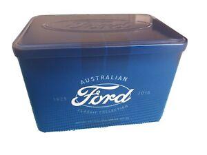 2017 Australian Ford 50 cent 12 coin tin No Coins