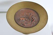 Coupe sur pied en bronze par L. Oudry décor de Tauromachie G faraoni 1869 XIXe