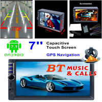 7inch Touch Screen 2Din Android Digital Display Car GPS Navigator MP5 Player New