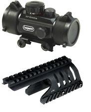 UTG ITA Red Green DOT Scope Kit Remington 870 Shotgun Tactical Weaver Rail Mount