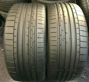 X2 285 45 21 Continental ContiSportContact 6 AO XL PERFECT !!!7mm!!(2515)