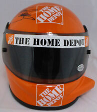 Tony Stewart Authentic Autographed Signed Home Depot Mini Helmet Beckett H44603