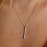 Halskette gold Boho Kette Choker Stab Damen Valentins Geschenk Anhänger NEU OVP