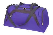 Ladies Large Purple Sports & Gym Holdall Bag TRAVEL WORK LEISURE  - PURPLE 26
