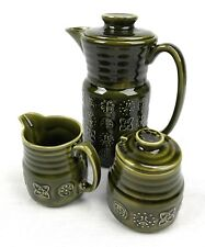 Lord Nelson Ware Coffee Pot / Lidded Bowl / Jug Set / Spares / Green Vintage