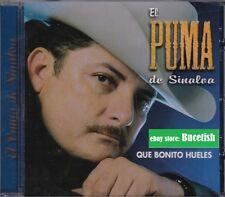 El Puma de Sinaloa Que Bonita Hueles CD New Nuevo sealed