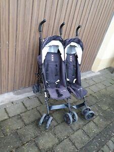 Knorr-baby Geschwisterwagen Side by Side Kombikinderwagen Shopper Jogger