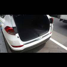 Rear Trunk protector Aluminium step For Hyundai All New Tucson TL 2016~2017+