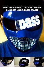 Dj LED Mask Custom LOGO Mask for Gigs Robot Bot Head Villain Hero Costume Rave