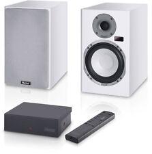 Magnat Magnasphere 33 cajas activamente par * blanco * con radio, control remoto, transmisor * nuevo