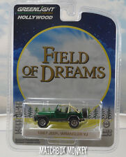 2016 Greenlight Green Machine 1987 Jeep Wrangler YJ RARE Field of Dreams XJ