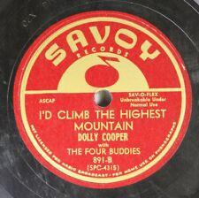 Hear! Doo Wop 78 Dolly Cooper - I'D Climb The Highest Mountain / I Wanna' Know O