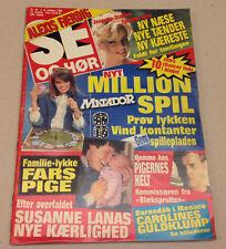 SAMANTHA FOX NUDE PHOTOS INSIDE +CAROLINE MONACO ON VINTAGE Danish Magazine 1986