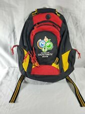 FIFA World Cup 2006 Germany Soccer Football Black Backpack Officially Licensed