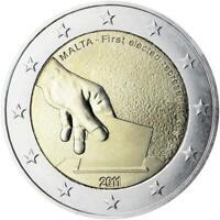 2 euro Malta 2011 prime elezioni
