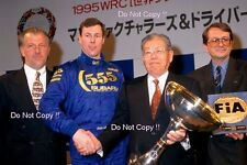 Colin McRae Subaru World Rally Champion 1995 Portrait Photograph