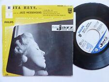 Rita Reys Avec Les Jazz Messengers   Philips – 422.349 BE   Pressage France
