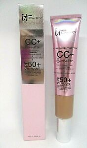 It Cosmetics Your Skin But Better CC+Illumination  Cream Spf 50+ ~ Tan ~ 2.53 oz
