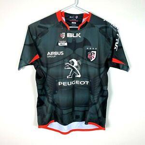 Toulon 'Stade Batman Replica' Super Rare Rugby Jersey BLK Size Men's Large BNWT