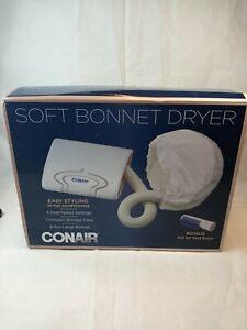 Conair Soft Bonnet Hair Dryer Extra-Large Bonnett -Vent Brush - 4 Heat Settings
