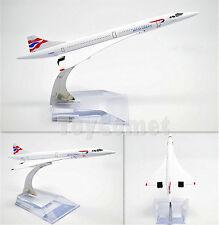 British Airways Concorde Airplane 16cm DieCast Plane Model