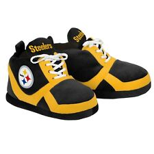 Pittsburgh Steelers Colorblock Slippers - NEW - FREE USA SHIPPING 15