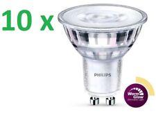 10 x Philips ledclassic spot emisor gu10 5-50w 2200-2700k warmglow regulable 36d