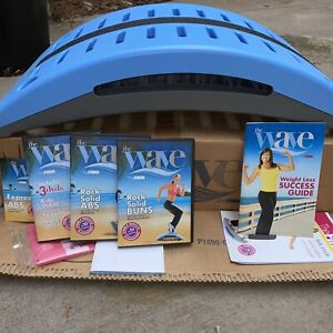 The Firm Wave Exercise Cardio Fitness System Step At Home Workout Gym DVD Lot