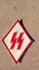 Viking Bolts Victory Rune Diamond Patch Red & White, Support 81, 1%er Big One