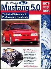 FORD MUSTANG TECH REF & PERFORMANCE Handbook COBRA R CAPRI GS RS Owners Manual