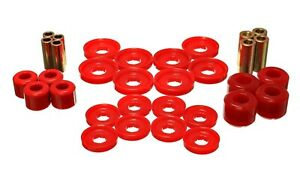Energy Suspension Control Arm Bushing Set Red Front for 06-08 Ram 1500 # 5.3142R