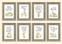 Guess How Much I Love You A4 Print Only 8 Different Designs Keepsake Nursery