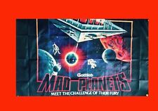 Large Mad Planets Flyer Arcade Video Game Banner Flag Poster