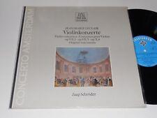 JEAN-MARIE LECLAIR NM Jaap Schroder Baroque Violin Concertos op. VII,3 & 5 X,6