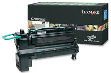 original Lexmark Toner C792X1KG schwarz black für C792 neu B