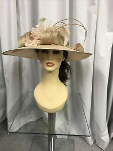 Condici Hat, Wedding Occasion, Formal Races In  Pearl NWT