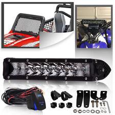"Fit TRUCK UTE ATV cree 10""LED Work Light Bar Combo+mounting Bracket"