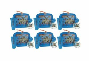 WileECoyote by Looney Tunes for Kids ComboPk: GiftSet-LunchBox New in Box 6PK