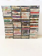 Cassette Lot Of 100 Metal Jazz County Rock Alternative