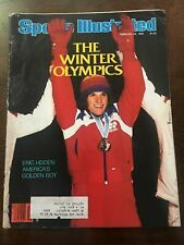 ERIC HEIDEN- WINTER OLYMPICS - SPORTS ILLUSTRATED - 1980