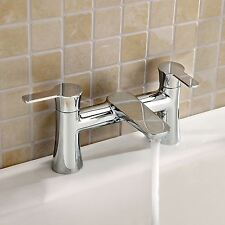PERTH BATH TAP THERMOSTATIC MIXER TAP SOLID BRASS WITH CHROME