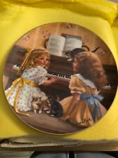 Reco Collectors Plate Afternoon Recital by Sandra Kuck 1983 Days Gone By Series