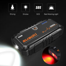 Suaoki U28 2000A Peak Starthilfe Jump Starter Pack Mit USB Power Bank 12V Charge