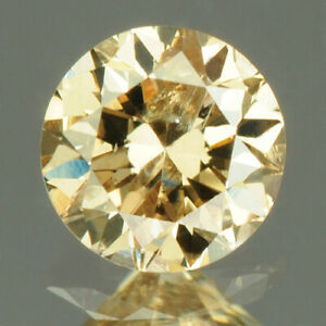 0.23 cts. CERTIFIED Round Cut I1 Fancy Grayish Brown Loose Natural Diamond 21013