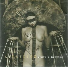 ATTRITION-HAND THAT FEEDS/REMIXES CD(TWO GODS)SIGNED